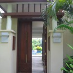2 bedroom Villa entrance