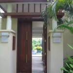 2 bedroom Villa entrance