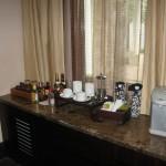 2 bedroom Villa  minibar and tee stuff