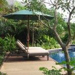 2 bedroom Villa pool lounge