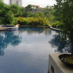 2 bedroom Villa pool plan